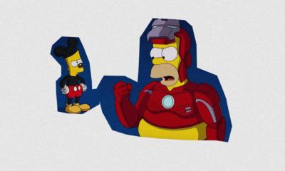 Les Simpson, le nouveau bulldozer de Disney