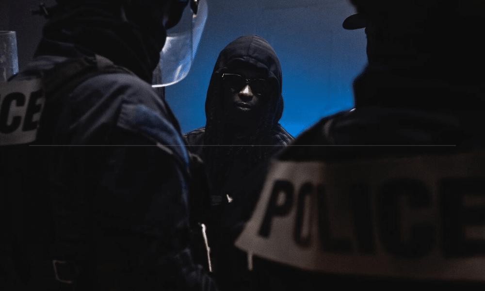 La police dénonce un clip de rap