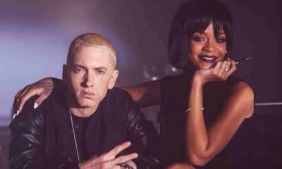 Eminem s'en prend violemment à Rihanna dans un leak