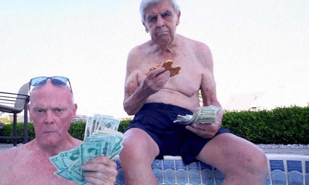 À 75 et 92 ans, Frank et Maury sont les nouvelles stars hype du rap US