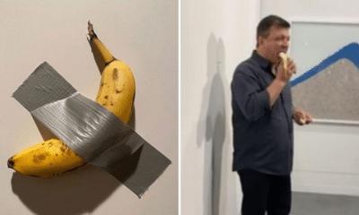 À Miami, la banane exposée à 120 000 $ a été mangée par un visiteur