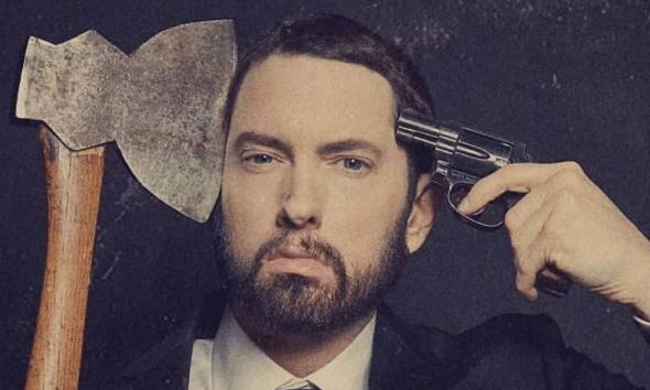 "Eminem : cinq choses à retenir de ""Music to be murdered by"""