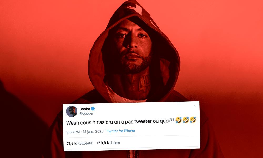 Après Instagram, Booba est parti casser Twitter