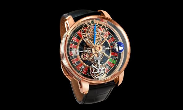 Oui, Drake s'est offert une montre avec une roulette de casino intégrée