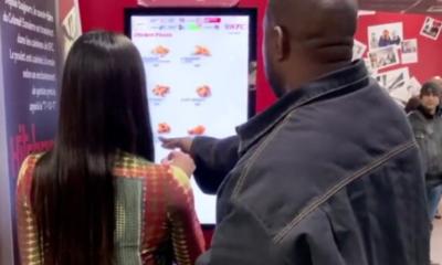 À Paris, Kanye West et Kim Kardashian ont commandé un KFC, tranquillement