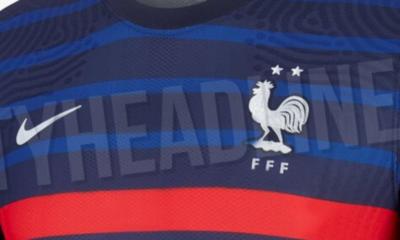 Les maillots (pas ouf) des Bleus pour l'Euro 2020 ont fuité