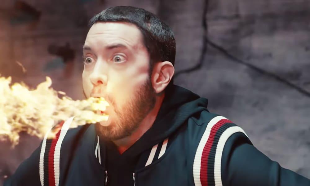 "On a parlé au grand gagnant du ""Godzilla Challenge"" d'Eminem"