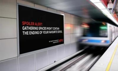 Confinement : des spoilers Netflix sur les murs pour éviter de sortir