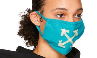 """De nombreuses personnalités, notamment, dans la mode ont surfé sur la """"tendance"""" du masque de protection anti-coronavirus. Off-White s'est prêté au jeu."""