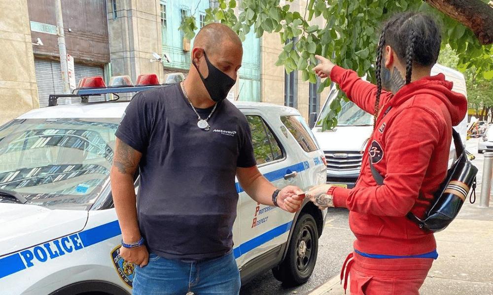 6ix9ine new-york police