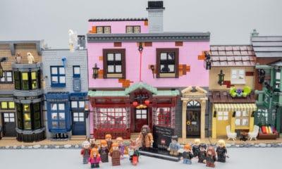 Pris de folie, la filiale LEGO sort un kit imposant composé de 5 544 pièces pour donner naissance aux chemins de traverse, si emblématique dans la licence Harry Potter.