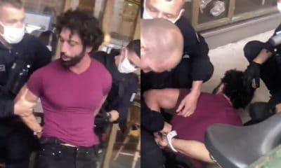 Ademo en garde à vue après une arrestation musclée à Paris