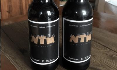 """Dans sa collection de Noël, l'office de tourisme """"plaine commune grand Paris"""" a décidé de mettre en vente une bière à l'effigie du groupe NTM"""