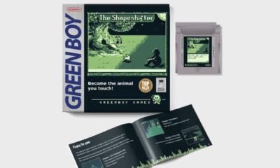 Après un financement passé par kickstarter, Greenboy a annoncé publier son jeu de Gameboy The Shapeshifterau printemps de 2021.