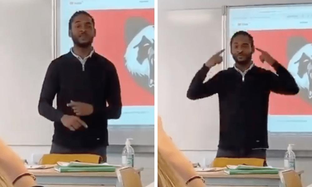 Un professeur de Philo rappe son cours et c'est génial